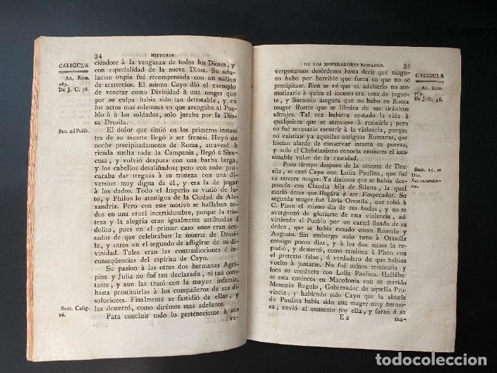 Libros antiguos: HISTORIA DE LOS EMPERADORES ROMANOS. MR. CREVIER. TOMO III. MADRID, 1795. PAGS: 442 - Foto 5 - 274758848