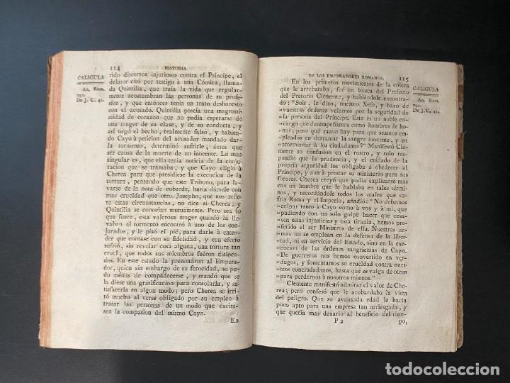 Libros antiguos: HISTORIA DE LOS EMPERADORES ROMANOS. MR. CREVIER. TOMO III. MADRID, 1795. PAGS: 442 - Foto 6 - 274758848