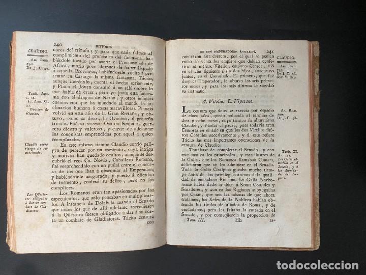 Libros antiguos: HISTORIA DE LOS EMPERADORES ROMANOS. MR. CREVIER. TOMO III. MADRID, 1795. PAGS: 442 - Foto 8 - 274758848