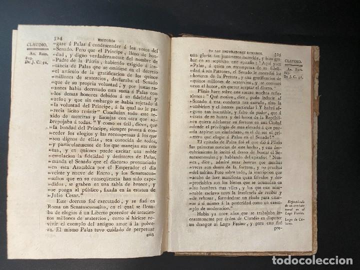 Libros antiguos: HISTORIA DE LOS EMPERADORES ROMANOS. MR. CREVIER. TOMO III. MADRID, 1795. PAGS: 442 - Foto 9 - 274758848