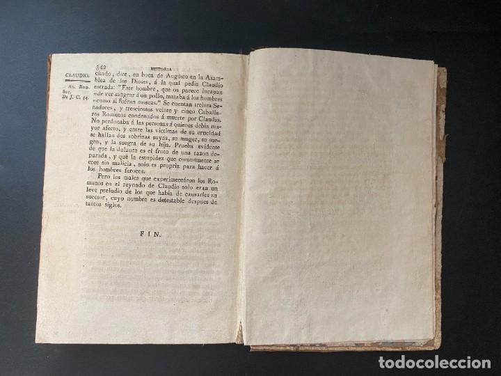 Libros antiguos: HISTORIA DE LOS EMPERADORES ROMANOS. MR. CREVIER. TOMO III. MADRID, 1795. PAGS: 442 - Foto 10 - 274758848