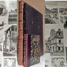 Libros antiguos: AÑO 1882. LA ILUSTRACIÓN. ENORME TOMO CON IMPRESIONANTES ILUSTRACIONES. SIGLO XIX.. Lote 275021988