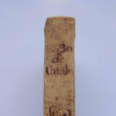 Libros antiguos: SEMANARIO CURIOSO HISTÓRICO ERUDITO BLASON DE CATALUÑA TOMO 5 SIGLO XVIII BARCELONA. Lote 275057928