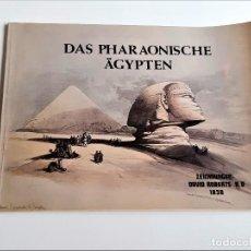 Livros antigos: LIBRO DAS PHARAONISCHE ÄGYPTEN - 28 X 21.CM. Lote 275094063