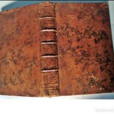 Libros antiguos: AÑO 1784: LIBRO DE HISTORIA DEL SIGLO XVIII.. Lote 293449343