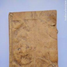 Libros antiguos: CATECISMO HISTÓRICO 1769 PARTE 1 Y 2 MISMO VOLUMEN. Lote 275598298