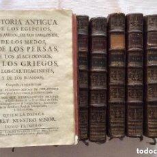 Libros antiguos: HISTORIA ANTIGUA DE LOS EGIPCIOS DE LOS ASIRIOS ,DE LOS BABILONIOS,DE LOS MEDOS Y PERSAS ....1755. Lote 276091828