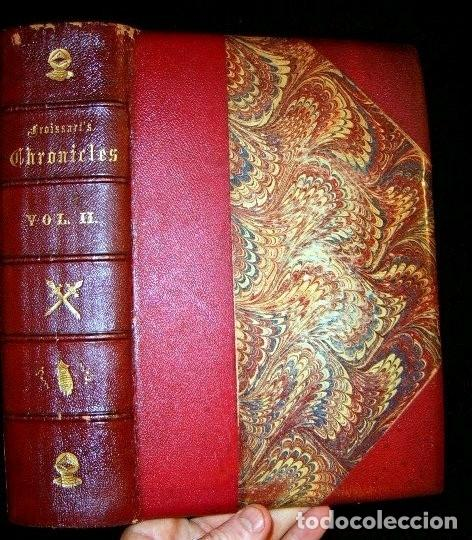 Libros antiguos: CHRONICLES OF ENGLAND, FRANCE, SPAIN,... 2 vol., 1868. FROISSART/JHONES/ROUTLEDGE. 75 LITOGRAFIAS - Foto 8 - 276806868