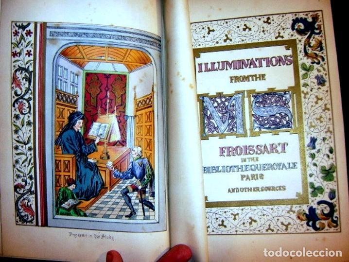 Libros antiguos: CHRONICLES OF ENGLAND, FRANCE, SPAIN,... 2 vol., 1868. FROISSART/JHONES/ROUTLEDGE. 75 LITOGRAFIAS - Foto 14 - 276806868