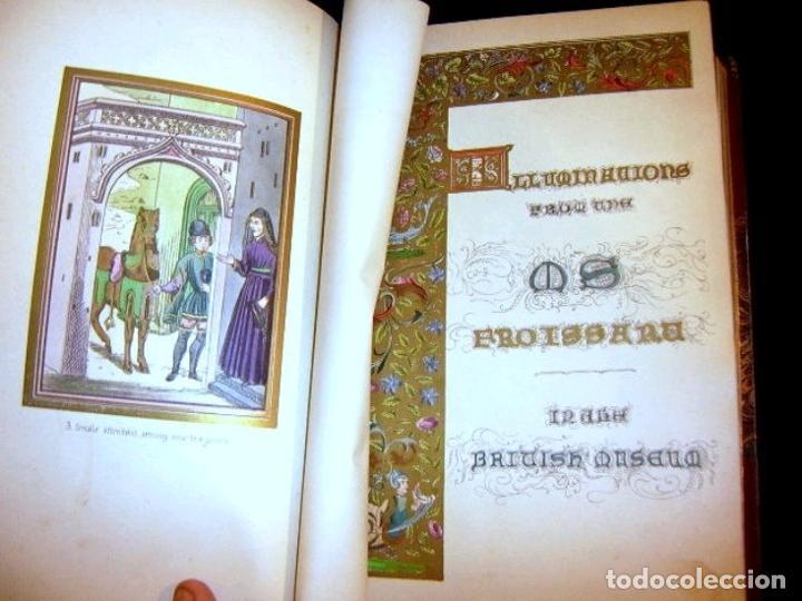 Libros antiguos: CHRONICLES OF ENGLAND, FRANCE, SPAIN,... 2 vol., 1868. FROISSART/JHONES/ROUTLEDGE. 75 LITOGRAFIAS - Foto 19 - 276806868