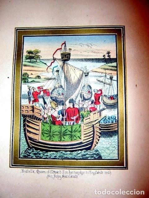 Libros antiguos: CHRONICLES OF ENGLAND, FRANCE, SPAIN,... 2 vol., 1868. FROISSART/JHONES/ROUTLEDGE. 75 LITOGRAFIAS - Foto 23 - 276806868