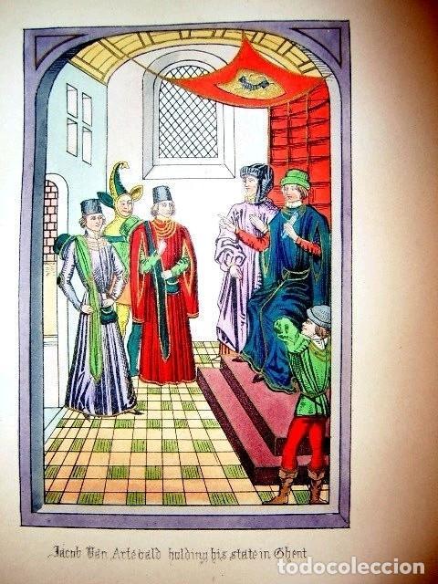 Libros antiguos: CHRONICLES OF ENGLAND, FRANCE, SPAIN,... 2 vol., 1868. FROISSART/JHONES/ROUTLEDGE. 75 LITOGRAFIAS - Foto 27 - 276806868