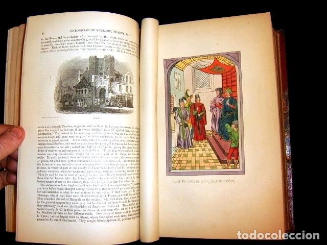 Libros antiguos: CHRONICLES OF ENGLAND, FRANCE, SPAIN,... 2 vol., 1868. FROISSART/JHONES/ROUTLEDGE. 75 LITOGRAFIAS - Foto 29 - 276806868