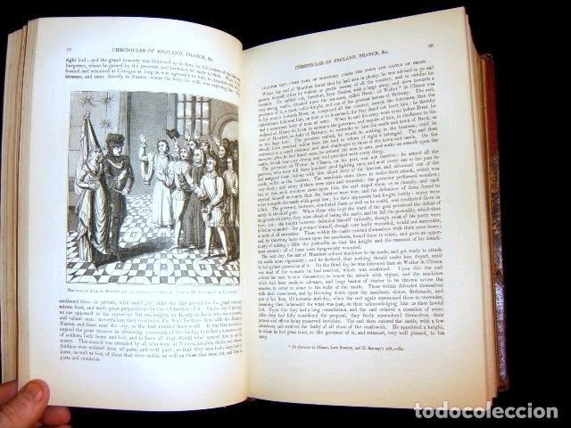 Libros antiguos: CHRONICLES OF ENGLAND, FRANCE, SPAIN,... 2 vol., 1868. FROISSART/JHONES/ROUTLEDGE. 75 LITOGRAFIAS - Foto 30 - 276806868