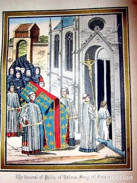 Libros antiguos: CHRONICLES OF ENGLAND, FRANCE, SPAIN,... 2 vol., 1868. FROISSART/JHONES/ROUTLEDGE. 75 LITOGRAFIAS - Foto 33 - 276806868