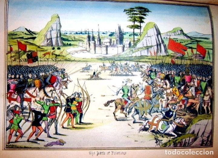 Libros antiguos: CHRONICLES OF ENGLAND, FRANCE, SPAIN,... 2 vol., 1868. FROISSART/JHONES/ROUTLEDGE. 75 LITOGRAFIAS - Foto 34 - 276806868