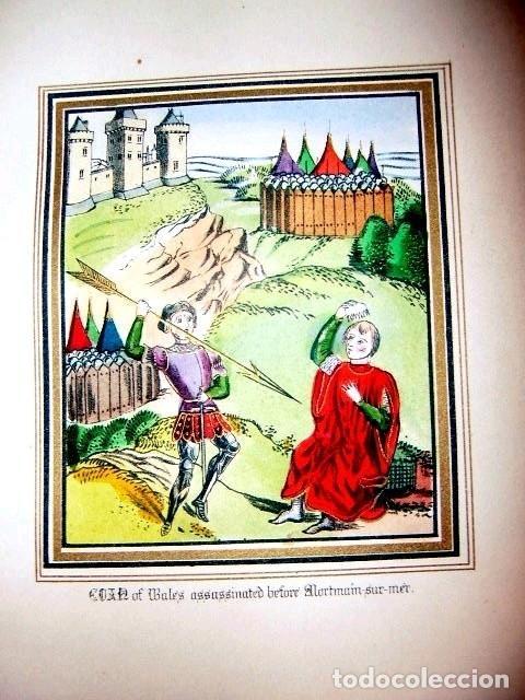 Libros antiguos: CHRONICLES OF ENGLAND, FRANCE, SPAIN,... 2 vol., 1868. FROISSART/JHONES/ROUTLEDGE. 75 LITOGRAFIAS - Foto 38 - 276806868