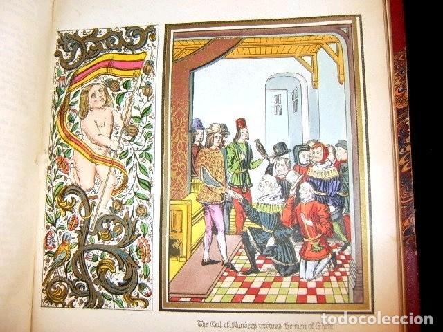 Libros antiguos: CHRONICLES OF ENGLAND, FRANCE, SPAIN,... 2 vol., 1868. FROISSART/JHONES/ROUTLEDGE. 75 LITOGRAFIAS - Foto 39 - 276806868