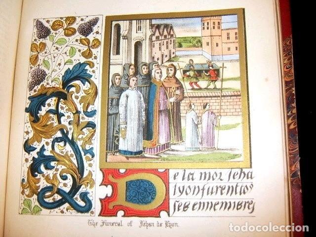 Libros antiguos: CHRONICLES OF ENGLAND, FRANCE, SPAIN,... 2 vol., 1868. FROISSART/JHONES/ROUTLEDGE. 75 LITOGRAFIAS - Foto 40 - 276806868