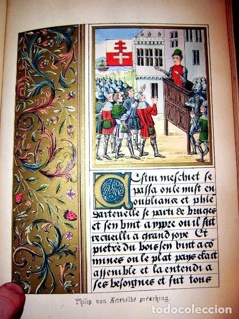Libros antiguos: CHRONICLES OF ENGLAND, FRANCE, SPAIN,... 2 vol., 1868. FROISSART/JHONES/ROUTLEDGE. 75 LITOGRAFIAS - Foto 42 - 276806868