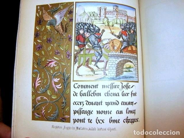 Libros antiguos: CHRONICLES OF ENGLAND, FRANCE, SPAIN,... 2 vol., 1868. FROISSART/JHONES/ROUTLEDGE. 75 LITOGRAFIAS - Foto 43 - 276806868