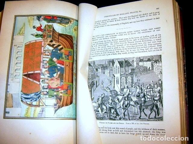 Libros antiguos: CHRONICLES OF ENGLAND, FRANCE, SPAIN,... 2 vol., 1868. FROISSART/JHONES/ROUTLEDGE. 75 LITOGRAFIAS - Foto 45 - 276806868
