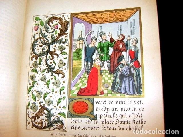 Libros antiguos: CHRONICLES OF ENGLAND, FRANCE, SPAIN,... 2 vol., 1868. FROISSART/JHONES/ROUTLEDGE. 75 LITOGRAFIAS - Foto 46 - 276806868