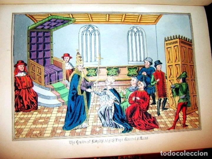 Libros antiguos: CHRONICLES OF ENGLAND, FRANCE, SPAIN,... 2 vol., 1868. FROISSART/JHONES/ROUTLEDGE. 75 LITOGRAFIAS - Foto 47 - 276806868