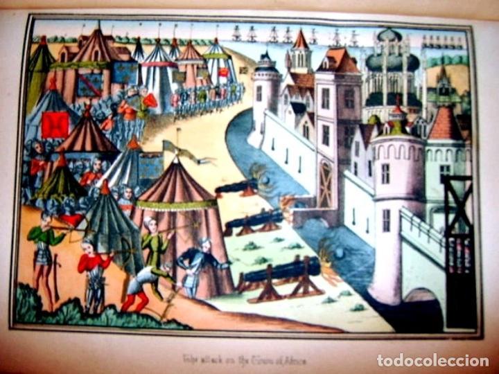 Libros antiguos: CHRONICLES OF ENGLAND, FRANCE, SPAIN,... 2 vol., 1868. FROISSART/JHONES/ROUTLEDGE. 75 LITOGRAFIAS - Foto 48 - 276806868