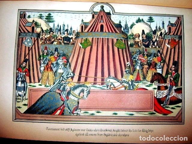 Libros antiguos: CHRONICLES OF ENGLAND, FRANCE, SPAIN,... 2 vol., 1868. FROISSART/JHONES/ROUTLEDGE. 75 LITOGRAFIAS - Foto 50 - 276806868