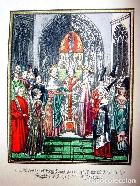 Libros antiguos: CHRONICLES OF ENGLAND, FRANCE, SPAIN,... 2 vol., 1868. FROISSART/JHONES/ROUTLEDGE. 75 LITOGRAFIAS - Foto 51 - 276806868