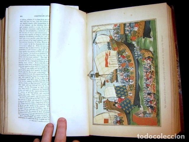 Libros antiguos: CHRONICLES OF ENGLAND, FRANCE, SPAIN,... 2 vol., 1868. FROISSART/JHONES/ROUTLEDGE. 75 LITOGRAFIAS - Foto 53 - 276806868
