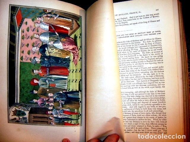Libros antiguos: CHRONICLES OF ENGLAND, FRANCE, SPAIN,... 2 vol., 1868. FROISSART/JHONES/ROUTLEDGE. 75 LITOGRAFIAS - Foto 54 - 276806868