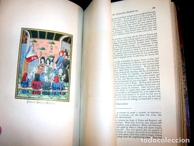 Libros antiguos: CHRONICLES OF ENGLAND, FRANCE, SPAIN,... 2 vol., 1868. FROISSART/JHONES/ROUTLEDGE. 75 LITOGRAFIAS - Foto 55 - 276806868