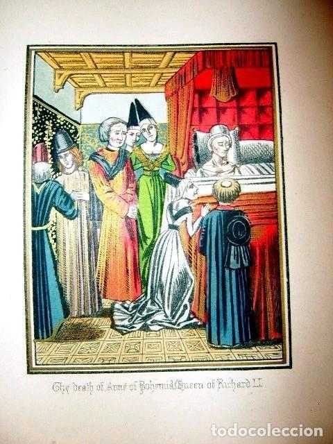 Libros antiguos: CHRONICLES OF ENGLAND, FRANCE, SPAIN,... 2 vol., 1868. FROISSART/JHONES/ROUTLEDGE. 75 LITOGRAFIAS - Foto 56 - 276806868