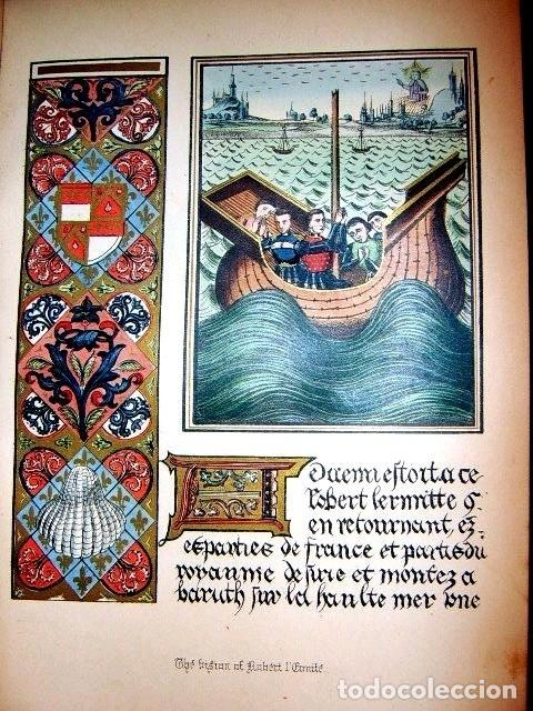 Libros antiguos: CHRONICLES OF ENGLAND, FRANCE, SPAIN,... 2 vol., 1868. FROISSART/JHONES/ROUTLEDGE. 75 LITOGRAFIAS - Foto 57 - 276806868