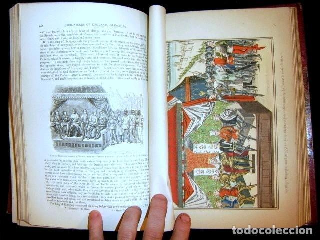 Libros antiguos: CHRONICLES OF ENGLAND, FRANCE, SPAIN,... 2 vol., 1868. FROISSART/JHONES/ROUTLEDGE. 75 LITOGRAFIAS - Foto 59 - 276806868