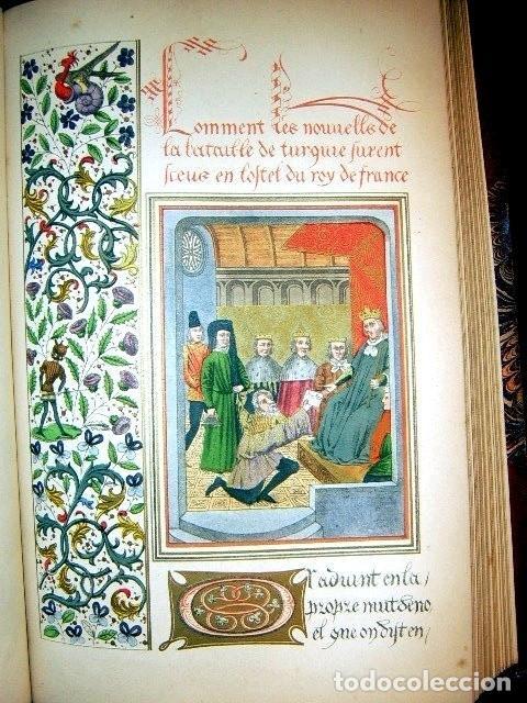 Libros antiguos: CHRONICLES OF ENGLAND, FRANCE, SPAIN,... 2 vol., 1868. FROISSART/JHONES/ROUTLEDGE. 75 LITOGRAFIAS - Foto 60 - 276806868
