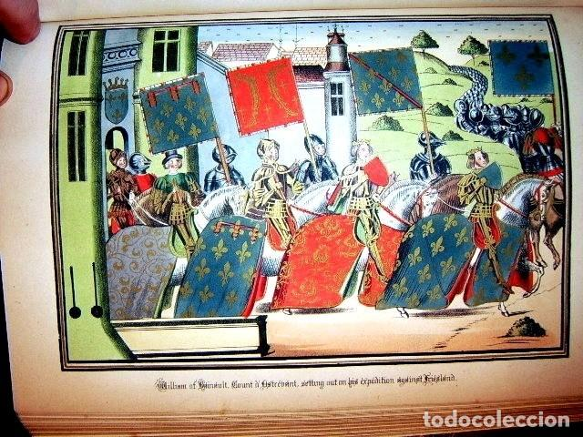 Libros antiguos: CHRONICLES OF ENGLAND, FRANCE, SPAIN,... 2 vol., 1868. FROISSART/JHONES/ROUTLEDGE. 75 LITOGRAFIAS - Foto 61 - 276806868