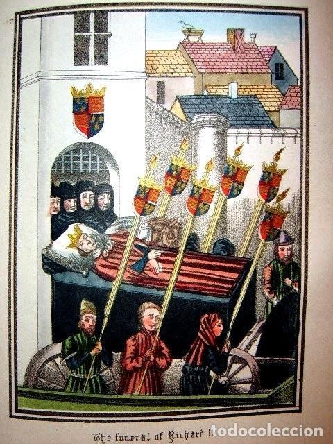 Libros antiguos: CHRONICLES OF ENGLAND, FRANCE, SPAIN,... 2 vol., 1868. FROISSART/JHONES/ROUTLEDGE. 75 LITOGRAFIAS - Foto 65 - 276806868