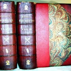 Libros antiguos: CHRONICLES OF ENGLAND, FRANCE, SPAIN,... 2 VOL., 1868. FROISSART/JHONES/ROUTLEDGE. 75 LITOGRAFIAS. Lote 276806868
