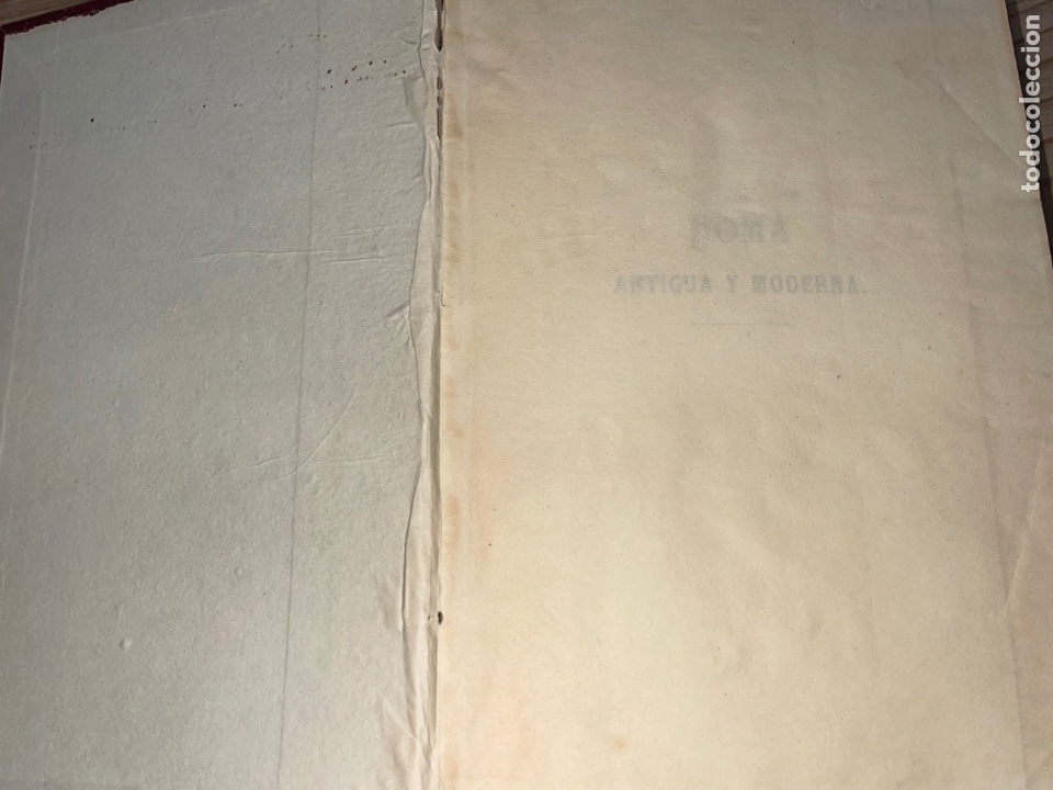 Libros antiguos: L- Roma Antigua y Moderna. Mary Lafon, 1857. La tapa del libro no es la original. - Foto 3 - 277417358