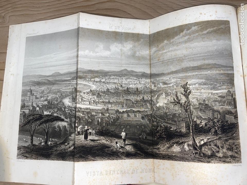 Libros antiguos: L- Roma Antigua y Moderna. Mary Lafon, 1857. La tapa del libro no es la original. - Foto 5 - 277417358