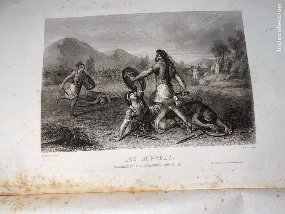 Libros antiguos: L- Roma Antigua y Moderna. Mary Lafon, 1857. La tapa del libro no es la original. - Foto 8 - 277417358