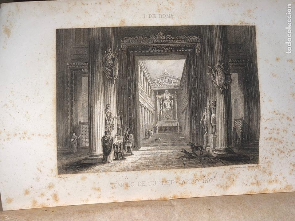 Libros antiguos: L- Roma Antigua y Moderna. Mary Lafon, 1857. La tapa del libro no es la original. - Foto 11 - 277417358