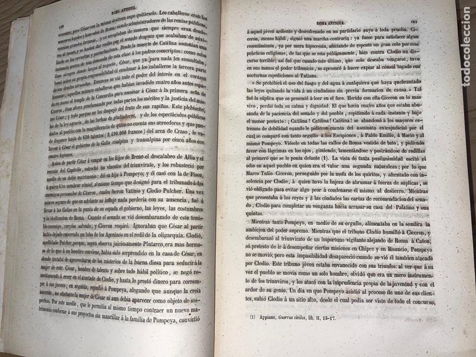 Libros antiguos: L- Roma Antigua y Moderna. Mary Lafon, 1857. La tapa del libro no es la original. - Foto 12 - 277417358