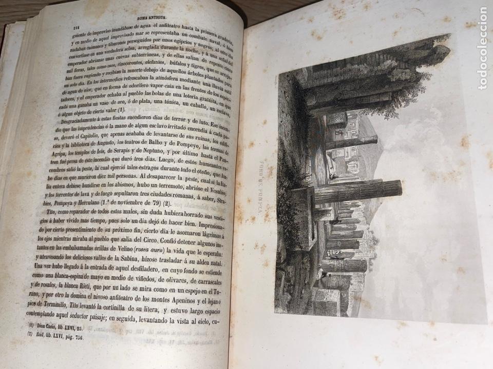 Libros antiguos: L- Roma Antigua y Moderna. Mary Lafon, 1857. La tapa del libro no es la original. - Foto 13 - 277417358