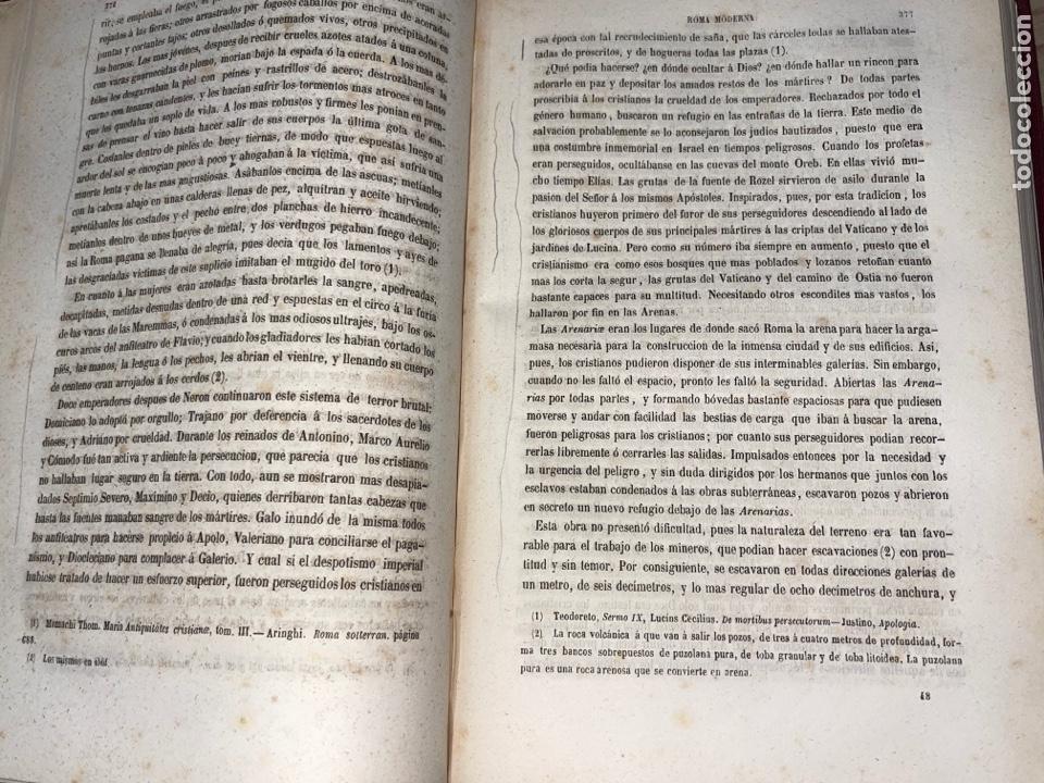 Libros antiguos: L- Roma Antigua y Moderna. Mary Lafon, 1857. La tapa del libro no es la original. - Foto 15 - 277417358