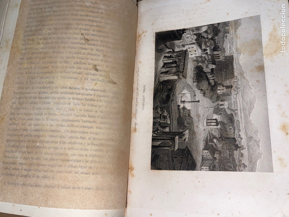 Libros antiguos: L- Roma Antigua y Moderna. Mary Lafon, 1857. La tapa del libro no es la original. - Foto 16 - 277417358