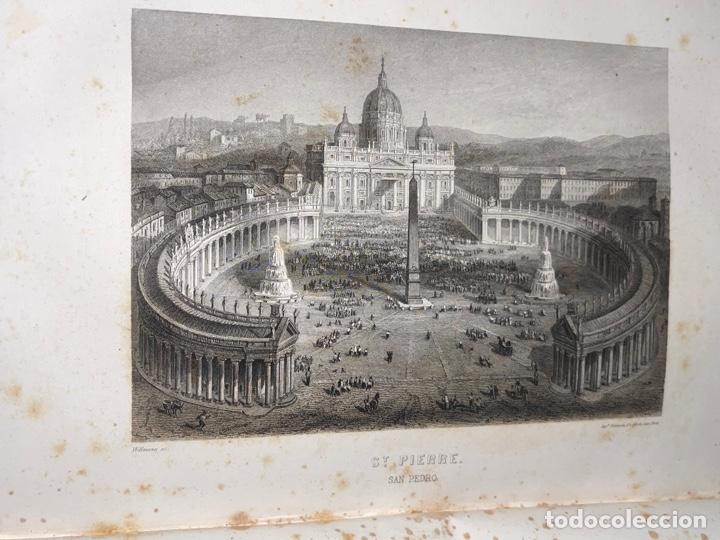Libros antiguos: L- Roma Antigua y Moderna. Mary Lafon, 1857. La tapa del libro no es la original. - Foto 17 - 277417358